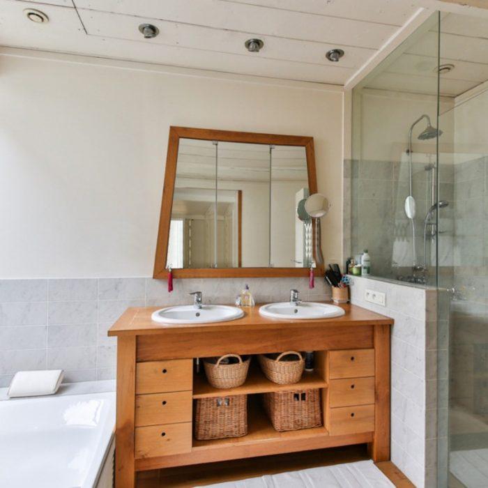 douche moderne salle de bain